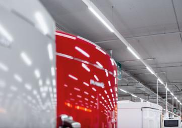 Coriflex LED Continuous Row