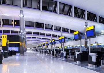 Heathrow Terminal 2 Check-In