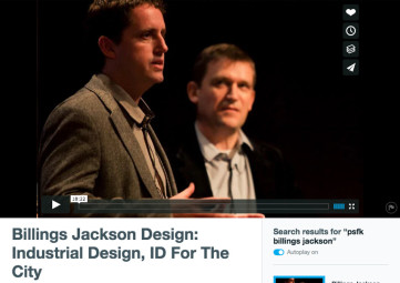 Billings Jackson at PSFK