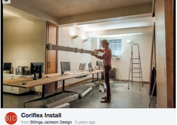 Coriflex in our London Studio