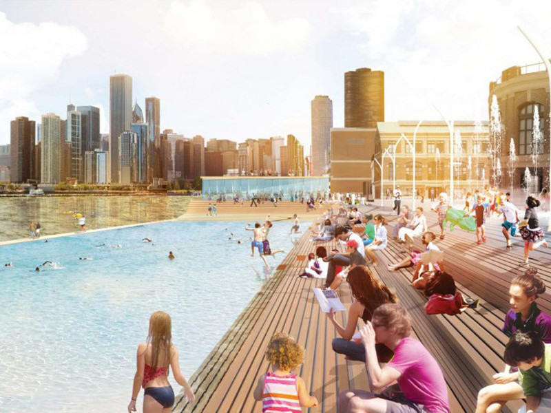 Chicago Pier pool