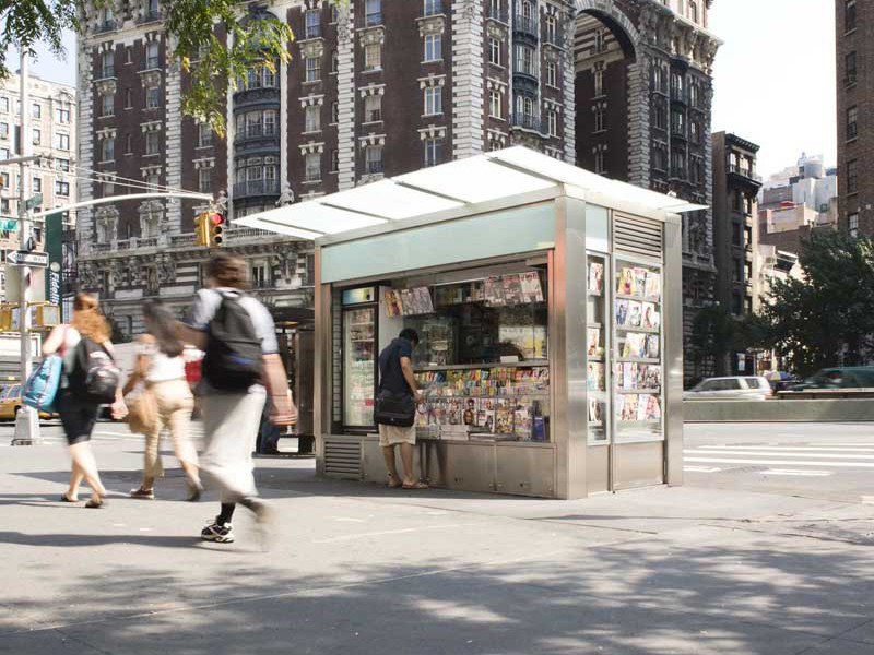 NYC newsstand